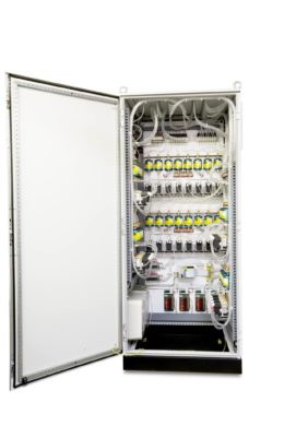 32-point CO monitoring system:  Inside of Pump/Filter enclosure