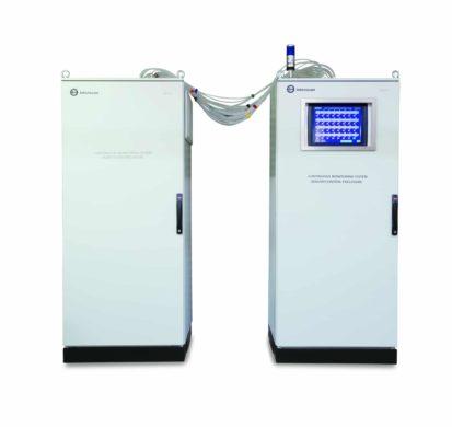 32-point carbon monoxide monitoring system