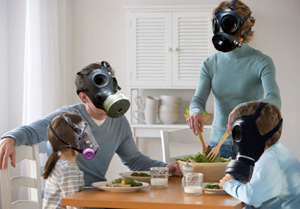 Bad indoor air quality