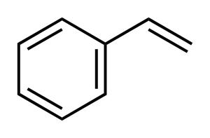 Styrene molecule